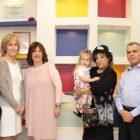 טקס חנוכת חדר אוכל חדש למחלקת ילדים על ידי בכירי תעשיית היהלומים בישראל