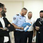 סגל הפיקוד הבכיר של 'מרחב דן' במשטרה קיים סיור מקצועי במרכז הרפואי