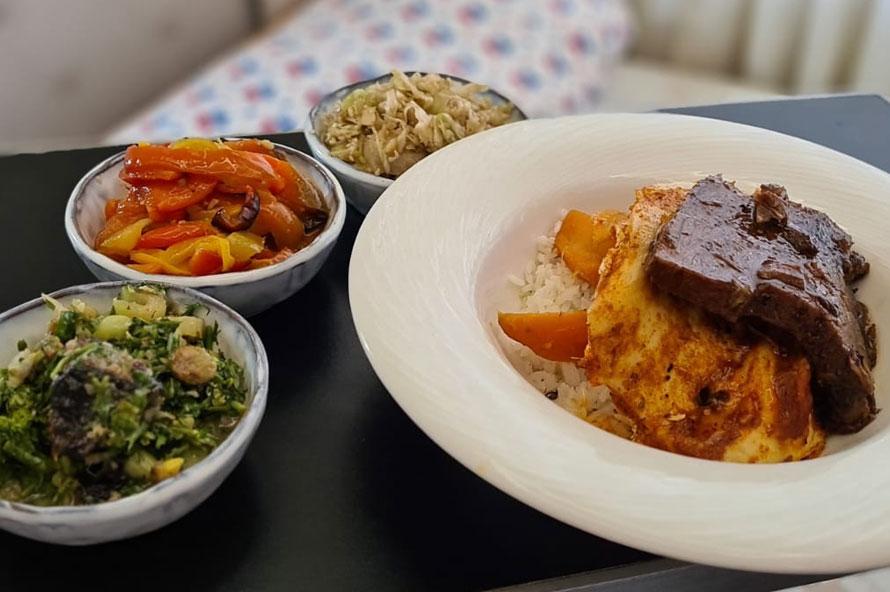 חדר אוכל מפנק מחלקת יולדות מעיני הישועה
