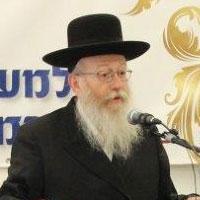 שר הבריאות הרב יעקב ליצמן