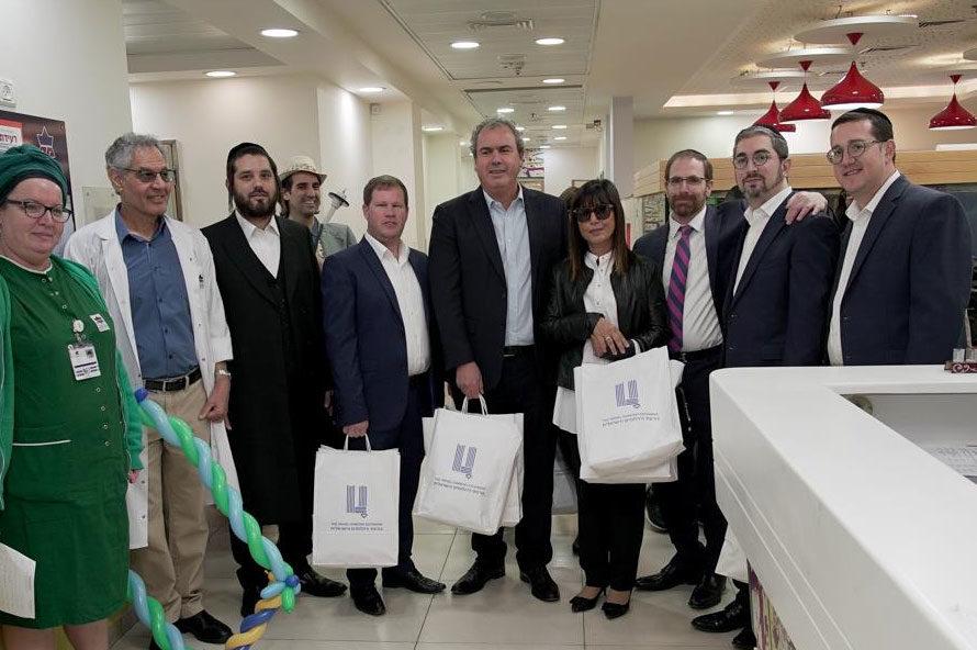 ביקורו של נשיא הבורסה מר יורם דבש וצוות נשיאות והנהלת הבורסה